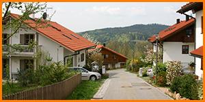Straße zum Weberfeld